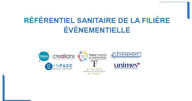 Le référentiel sanitaire de la filière événementielle approuvé par l'Etat