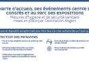 Destination Angers met en place une charte d'accueil des Evénements au Centre de congrès et Parc des expositions
