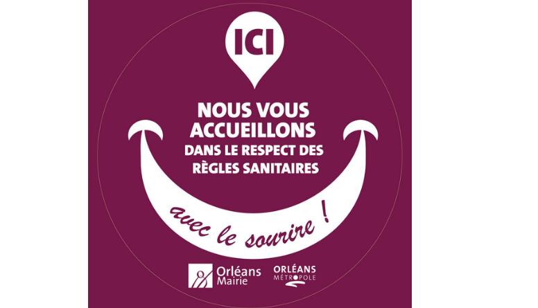 La Ville d'Orléans a réalisé, avec les acteurs économiques de son territoire, un « Guide des bonnes pratiques sanitaires »